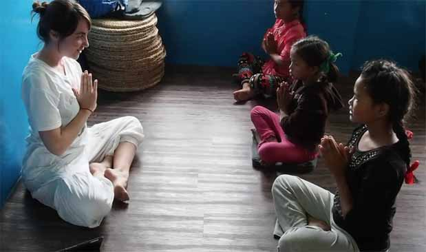 Picture Suryakiranam: Yoga for Kids with Paula 1