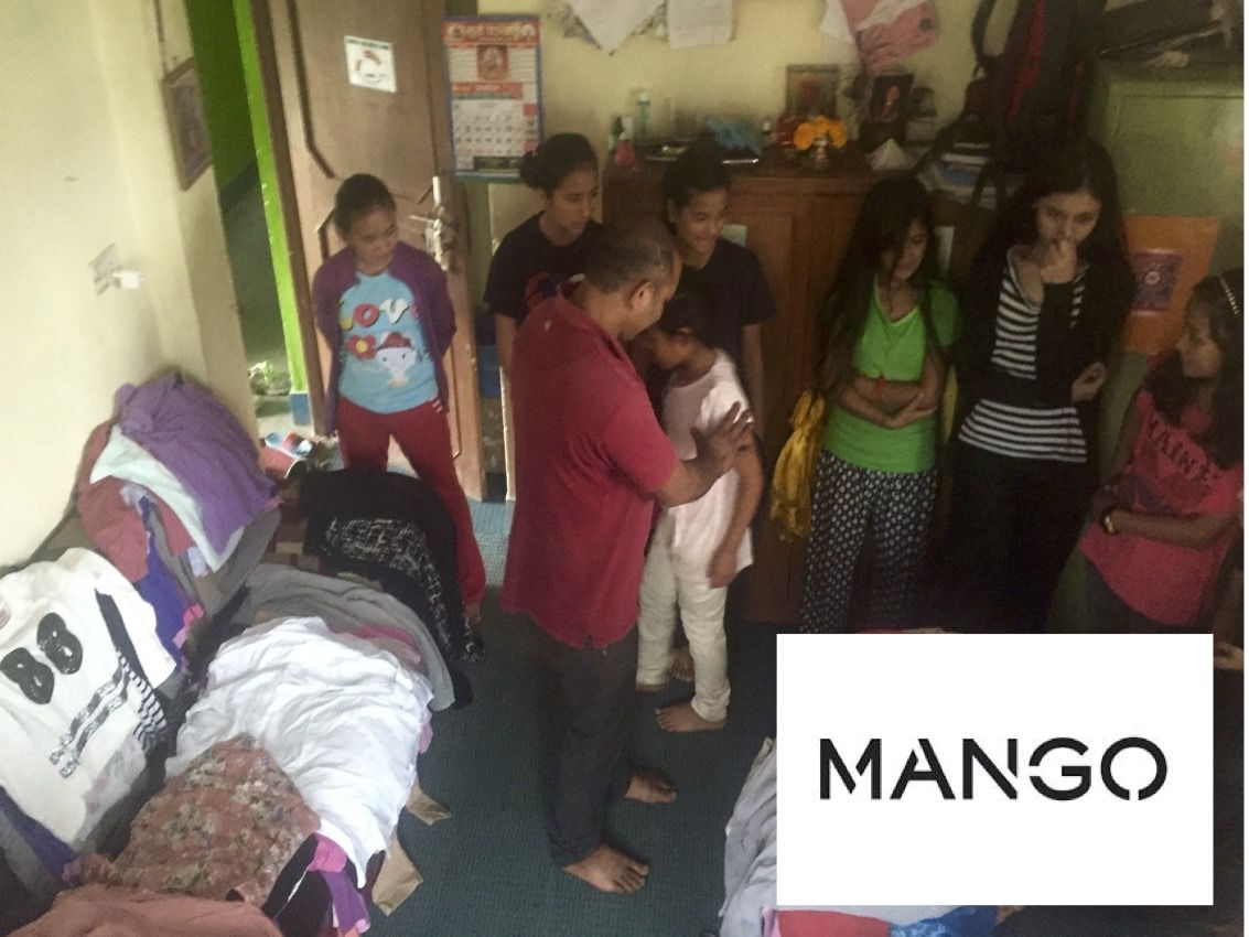 Picture MANGO donate cloths for our children 1